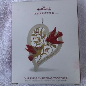 "Hallmark ""Our First Christmas Together 201…"